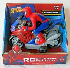 Marvel Spider-Man Motorbike, Remote Control, 27MHZ New 2020 OFFBX