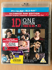 1D ONE DIRECTION: THIS IS US 3D ~ 2013 Concert Film 3d + 2D UK Blu-ray