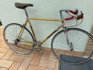 Bicicletta Corsa Daccordi d'Epoca Vintage Alluminio Oro Alan