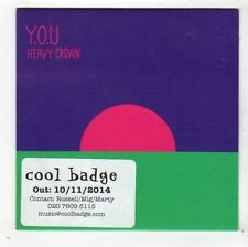 (FY330) Y.O.U., Heavy Crown - 2014 DJ CD