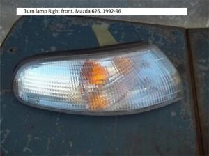 Turn lamp Right front. Mazda 626. 1992-96