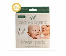 NATURES CHILD Large Cotton Breast Pads 6 pack