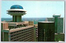 Vintage Postcard~ Polaris Restaurant~ Hyatt Regency Hotel~ Atlanta, Georgia
