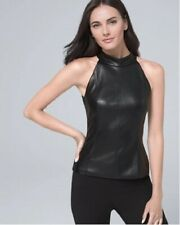 Genuine Leather Dress, Handmade Celebrity Lambskin Black Leather Dress,Plus Size