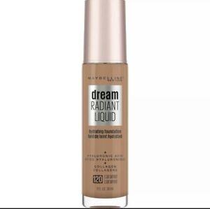 Maybelline Dream Radiant Liquid Hydrating Foundation 1fl.oz./30ml    120 Caramel