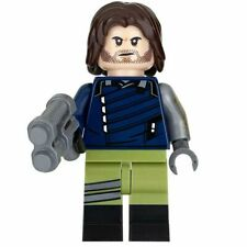 TYPE MINI FIGURINE BRICKS LEGO  BUCKY CAPTAIN AMERICA MARVEL AVENGERS