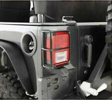 Smittybilt 2007-2017 Jeep Wrangler JK Euro Tail Light Guards Black 8665