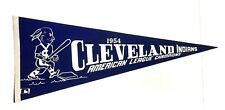 1954 Cleveland Indians American League Champions Replica Pennant MLB Baseball