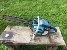 Vintage Homelite XL-12 Chainsaw Big Blue RARE!!