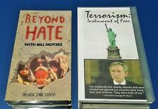 TERRORISM: INSTRUMENT OF FEAR + BEYOND HATE (2 VHS TAPE) TERRORISM ISLAM RARE VG
