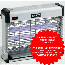 Birko Spare Parts Insect Killer Fluorescent Tube Starter Replacement x 2 1315052