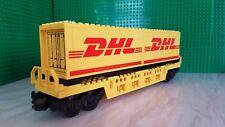 Lego Train  custom Double Container Wagon (DHL)