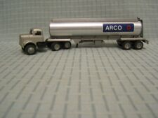 Winross ARCO White 9000 Tractor Silver Tanker Die Cast Metal 1:64 VGC 1985
