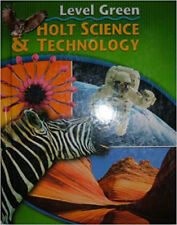 Holt Science & Technology Integrated Level Green F,J,M,N,O Student Edition NEW!