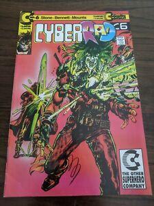 Cyberrad #6 November 1991 Continuity Comics