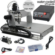 3 Axis 6040 CNC Router Engraver Milling Machine Engraving Drilling Desktop US