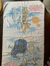 Vintage Star Wars Hand Towel -- A New Hope