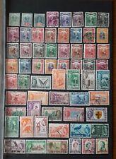 Briefmarken Britische Kolonie Sarawak 1899,1902,1934,1945,1950,1955 Janre.