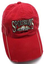 SPORTSMAN'S WAREHOUSE  (CA) red adjustable cap / hat - Distressed style