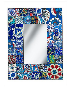 Rectangle Mosaic Wall Mirror