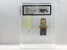 1999 Lego Star Wars Qui-Gon Jinn Error Misprint Figure Graded UKG 100% Gold COA
