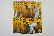 1997/98 Cricket Western Australian Warriors set of 15 cards