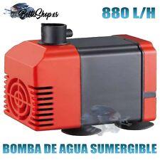 Bomba agua sumergible 880l/h 15W para acuario fuente estanque hidroponia pecera