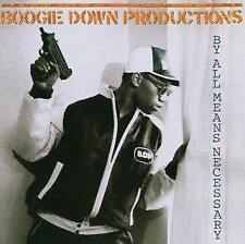 Boogie Down Productions - By All Means Necessary (NEW CD)