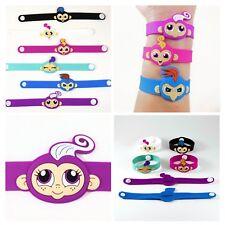 Party Favors Bracelets Finger Monkeys Kids Goody Bag Birthday Loot Jewelry Gifts