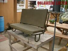 US Military Army Truck/Jeep M151 A1 A2 Rear Seat Frame w/2 Canvas Cushions New