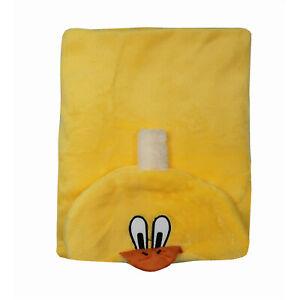 Duck Shaped Hooded Newborn Baby Towel Fluffy Soft Fleece Warm Blanket Wrap
