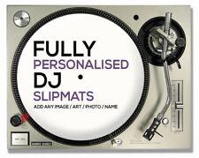 Custom SLIPMAT per i DJ/giradischi/ponti con il tuo logo/design - (COPPIA)