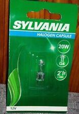 lampadina SYLVANIA ALOGENA DIMMERABILE CAPSULE G4 12V 2000H POTENZA 20W
