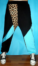 2014 New Harem patchwork Trouser Hip Hop dance leopard sports Costume jazz pants