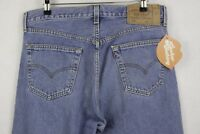 VINTAGE Mens LEVIS 501 Jeans STRAIGHT Button Fly USA MADE W36 L32 EXCELLENT P30