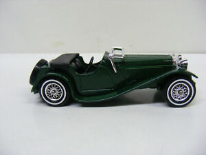 Matchbox Models Of Yesteryear Y1 1936 Jaguar SS 100 Green