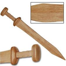 "27"" WOODEN ROMAN CENTURION GLADIATOR SWORD Gladius Blade Medieval Greek Trooper"