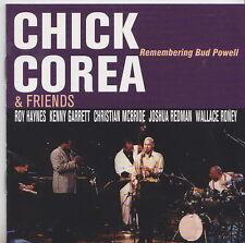 CHICK COREA & FRIENDS   CD PROMO  REMEMBERING BUD POWELL