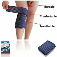 Compression Ankle  pain Relief Wrap double pull elastic straps for added Support