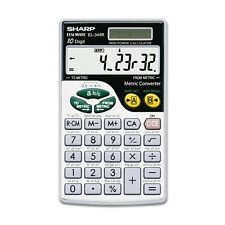 Sharp El-344Rb Metric Calculator - El344Rb