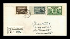 Dr Jim Stamps Registered Ottawa Canada Fdc Combo Monarch Size Cover