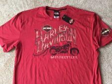 Harley Davidson Brick Red Shirt NWT Men's 4XL