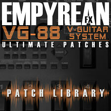 Roland VG-88 ULTIMATE Patches Guitar Effects Settings Presets FREE FAST SHIPPING