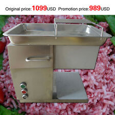 automatic meat cutting machine meat cutter for chicken,beef,pork with 3mm blade