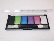 Makeup Eye Shadow Eyeshadow shimmer metallic set Palette Brush no.7 Love 6 Color