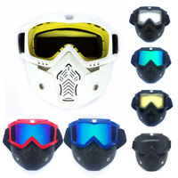 Winter Snow Sports Goggles Ski Snowboard Snowmobile Skate Full Face Mask Glasses