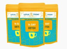 14 DAY TEA DETOX TEA Colon Cleanse -Pure Natural Ingredients Detox and Relax Tea