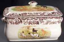 Spode WOODLAND Hunting Dogs Bread Box 7555235