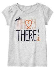 NWT Gymboree CUTE ON THE COAST GIRLS Ahoy There Tee 7