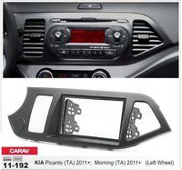 CARAV 11-192 2Din Kit installation of radio car KIA Picanto, Morning 11+
